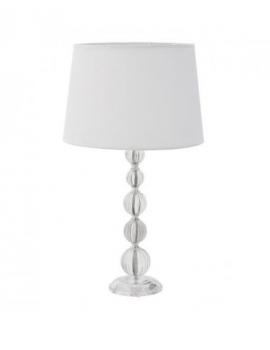 LAMPE A POSER CRISTAL BLANC
