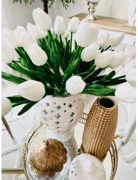 BOUQUET DE TULIPES BLANCHES...