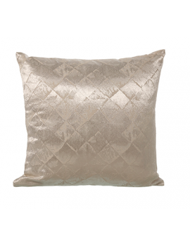 COUSSIN CREME ET OR