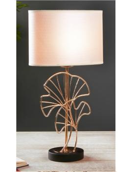 LAMPE DE TABLE FEUILLES...
