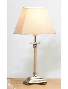 LAMPE A POSER BOIS CLAIR ET...