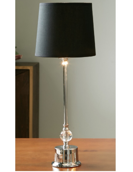 LAMPE A POSER, ARGENT...
